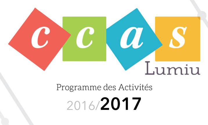 CCAS : programme des activités 2016 / 2017