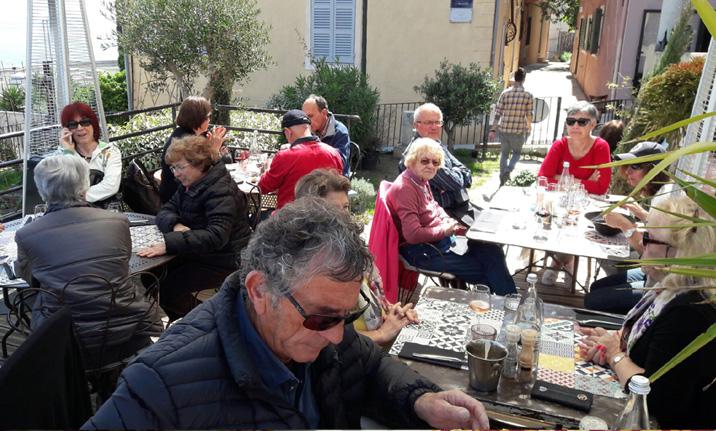 Visite de Bastia le 7 avril avec le CCAS