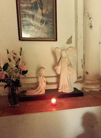 Célébration de la messe d'Occi le 1er mai