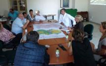Rencontre entre Madame la sous-préfète de Calvi, Anne Ballereau, et le Conseil Municipal