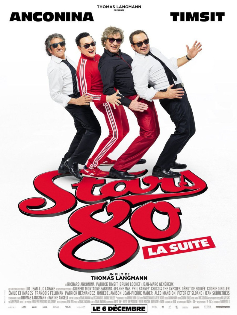 """LumiacCiné : """"Stars 80, la suite"""", le 20 janvier 2018 au Fogata"""