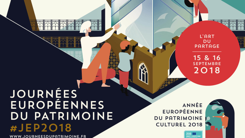 JOURNÉES EUROPÉENNES DU PATRIMOINE LES 15 ET 16 SEPTEMBRE 2018