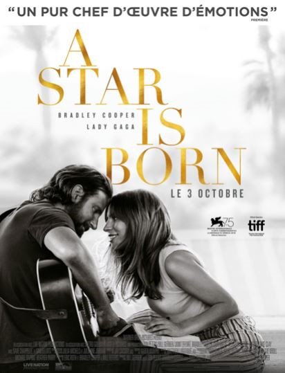 LumiacCinè : A Star is Born, le 10 novembre 2018 au Fogata