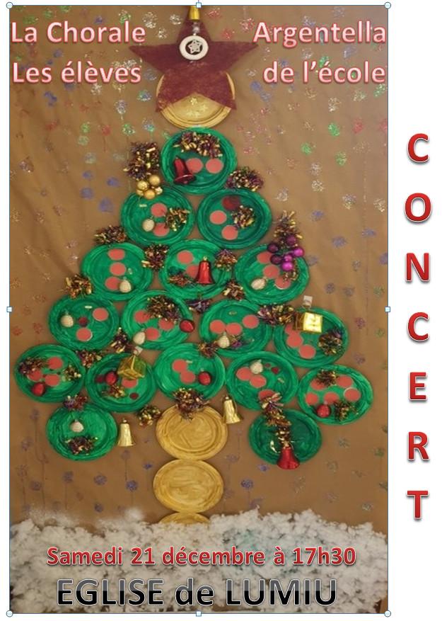 Concert des enfants et de la chorale Argentella