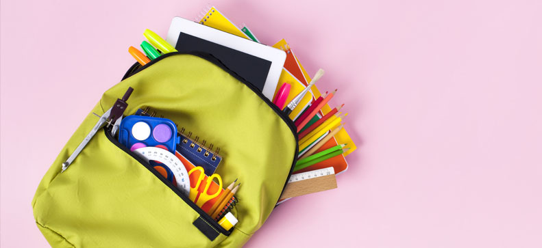 Rentrée scolaire 2021 : listes de fournitures