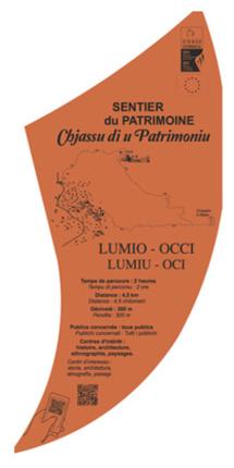inauguration du sentier du patrimoine LUMIU-OCI