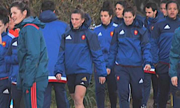 Les féminines du XV de France en Balagne pour préparer la coupe du monde de rugby