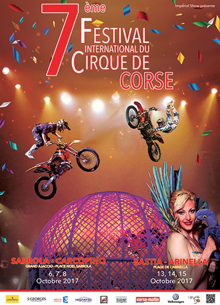 Festival international du Cirque de Corse, le 15 octobre 2017