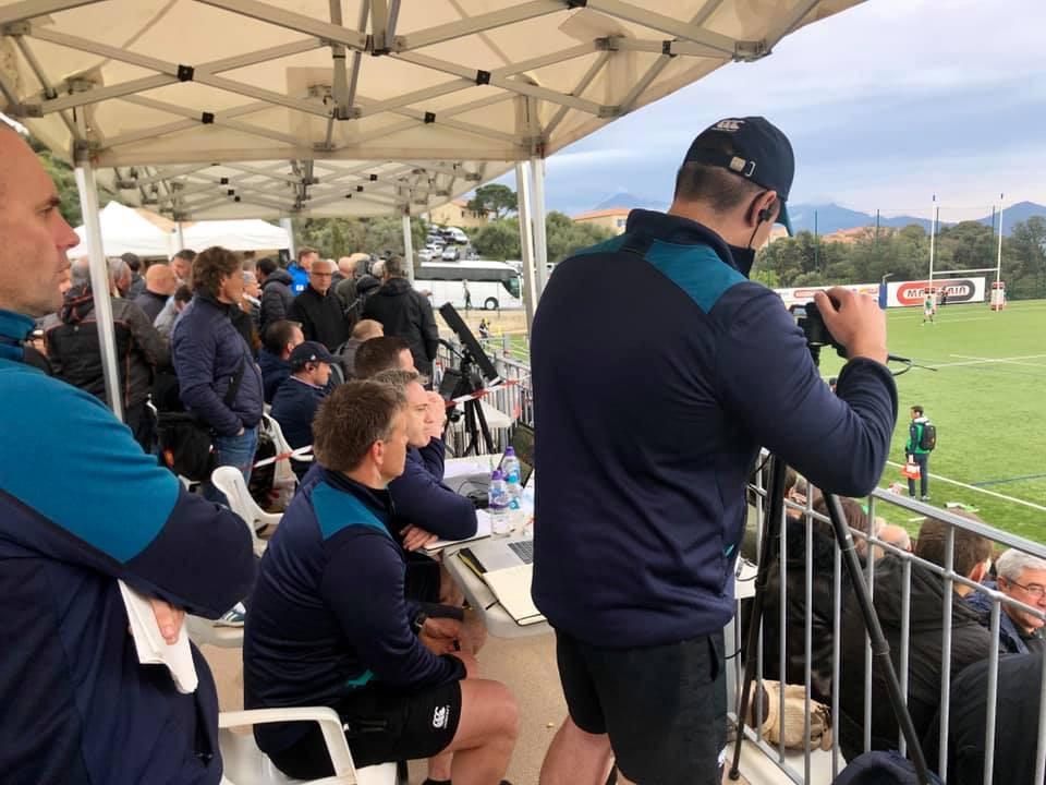 Rugby U20 : La France s'est inclinée devant les Irlandais à Lumio