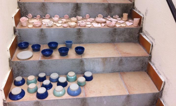 Vacances actives au centre a r a zitellina - Fabriquer un tour de potier ...
