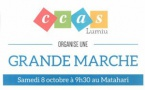 8 octobre 2016 : grande marche avec le CCAS