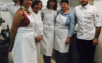 CCAS : cours de cuisine à l'hôtel Chez Charles
