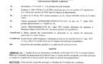ARRÊTÉ D'INTERDICTION TEMPORAIRE D'EMPLOI DU FEU LES 6 ET 7 JUIN