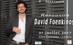 Rencontre littéraire : David Foenkinos le 21 juillet au Clos Culombu