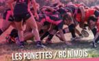 Match Les Ponettes / RC Nîmois le 25 mars au stade de Lumio