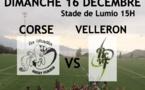 Rugby : LES PONETTES / VELLERON le 16 décembre à 15h