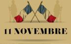 Célébration du centenaire de la guerre 14-18,  le mardi 11 novembre 2014