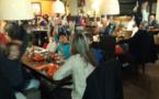 Déjeuner au Mille Sabords pour les enfants de l'école de Lumio