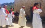 Messe dans la chapelle di l'Annunziata et procession