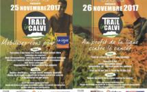 Animations et trails les 25 et 26 novembre 2017 à Calvi